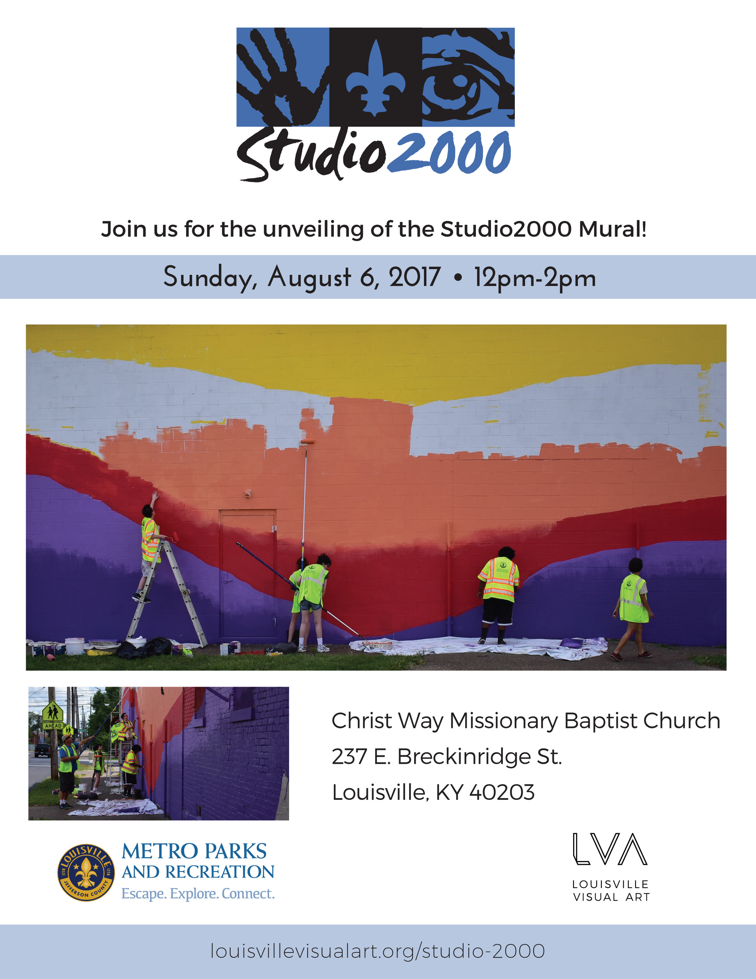 """Sunday is our Studio 2000 mural unveiling!   FRIDAY:  Harlan Strummer Welch-Scarboro shares """"Re-Animations"""" at Craft Gallery   It's PYRO Gallery's last show on East Market Street...   """"First Look / Last Look"""" cuts up at Regalo   SATURDAY:  Our neighbors at 1619 Flux invite you to """"Meet Your Neighbors: Feminine and LGBTQ Perspectives"""""""