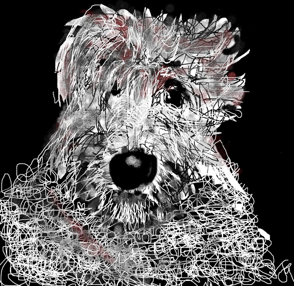 """""""Murphy"""" by Joyce Goldin, digital painting (2013)"""