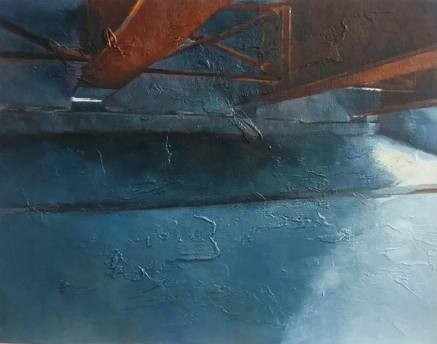 """""""Underpass"""" by Victor Sweatt,11x14in, oil on panel, 2017, $650"""