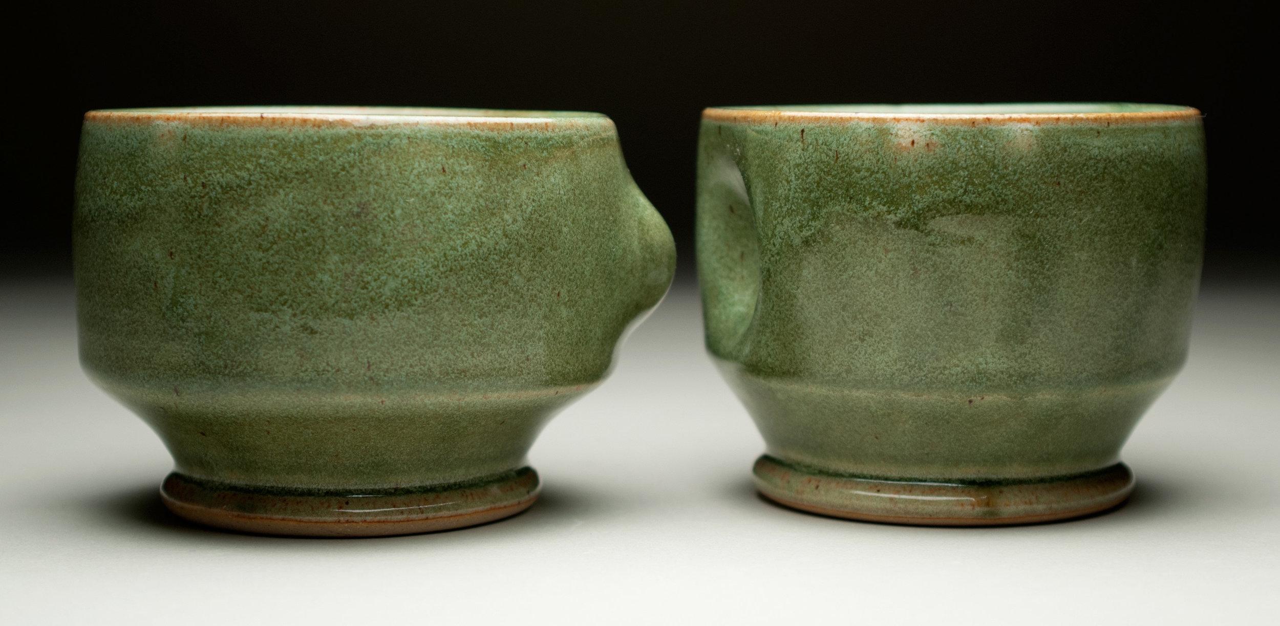 """""""Cupple"""" by Alex Adams, Ceramic,3x3.5x3.5in, 2015, $50 for set"""