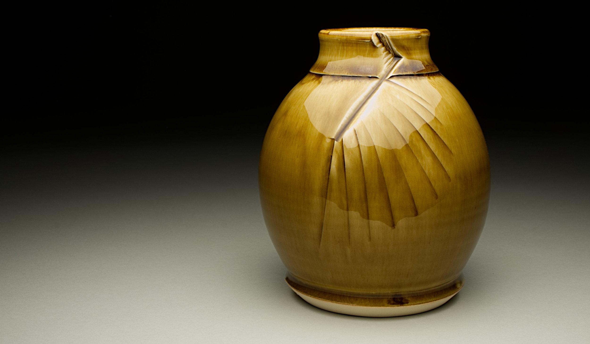 """Vase"" by Alex Adams, Ceramic,5.5x4.4x4.5in, 2017, $55"