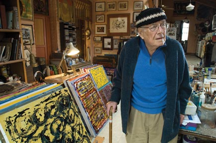 2011 photo of Bill Fischer by John Nation for Louisville Magazine