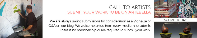Are you interested in being on Artebella?Click  here to learn more.
