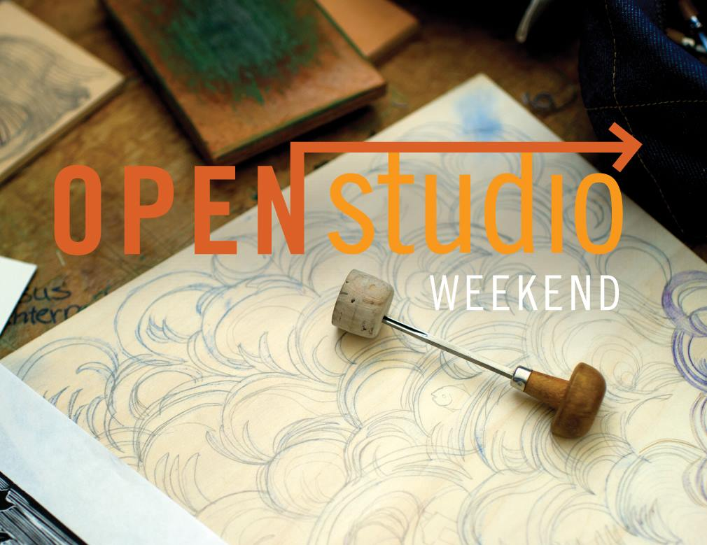 This weekend is  OPEN STUDIO WEEKEND 2017 ! Join us:   FRIDAY, November 3  11am-1pm: Visitor Center Artist Preview (301 S. 4th St) 6pm-8pm: Launch Party/Reception @ Cressman Center (100 E. Main St)   SATURDAY, November 4  12pm-1pm: LouVelo Bike-ride Kickoff (Hyland Glass, 721 E Washington St) 12pm-6pm: Open Studio Weekend Tour Saturday   SUNDAY, November 5  12pm-6pm: Open Studio Weekend Tour Sunday