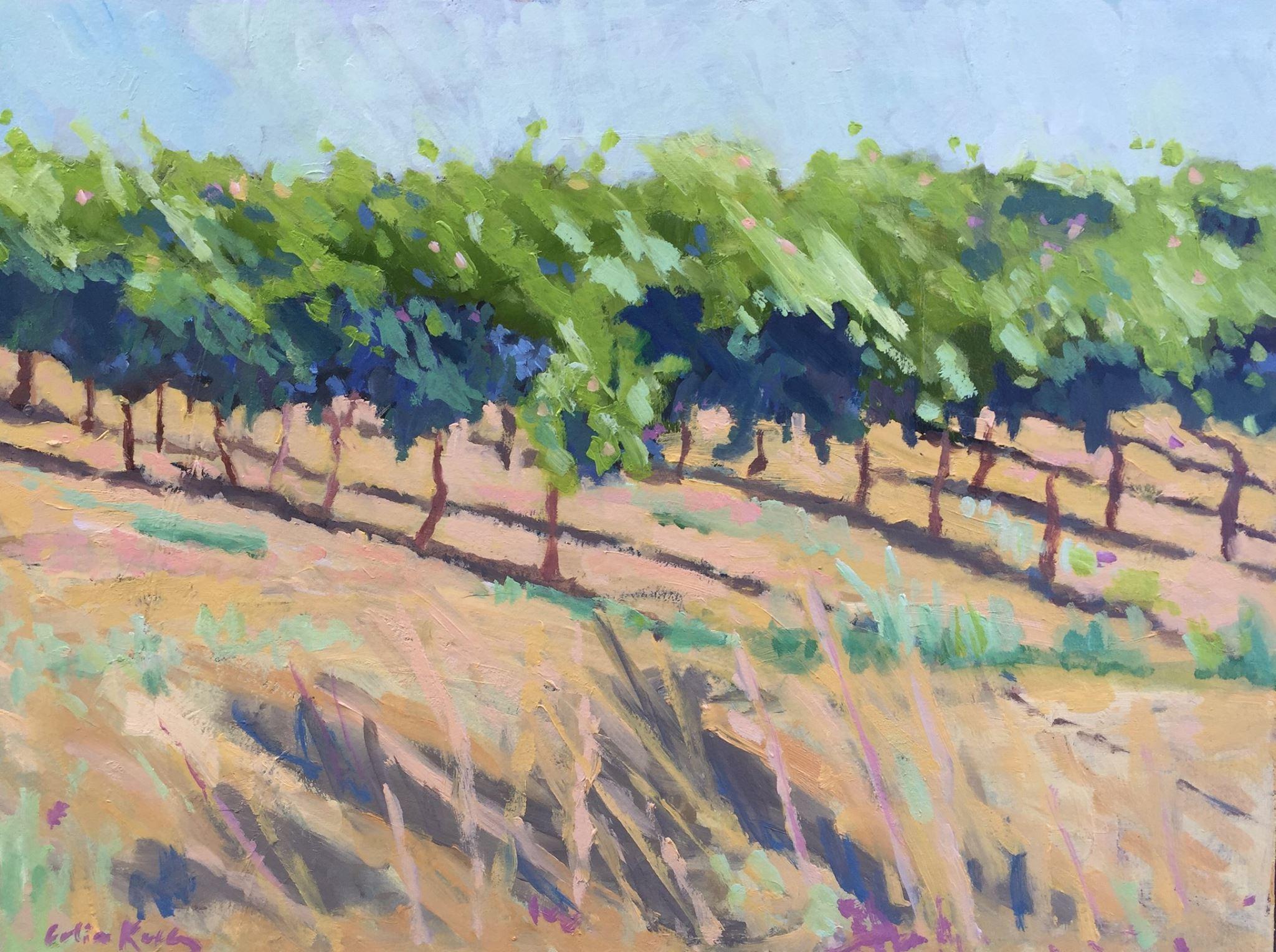 """Sunswept"" Celia Kelly,oil on panel,11x14in,2017, NFS"
