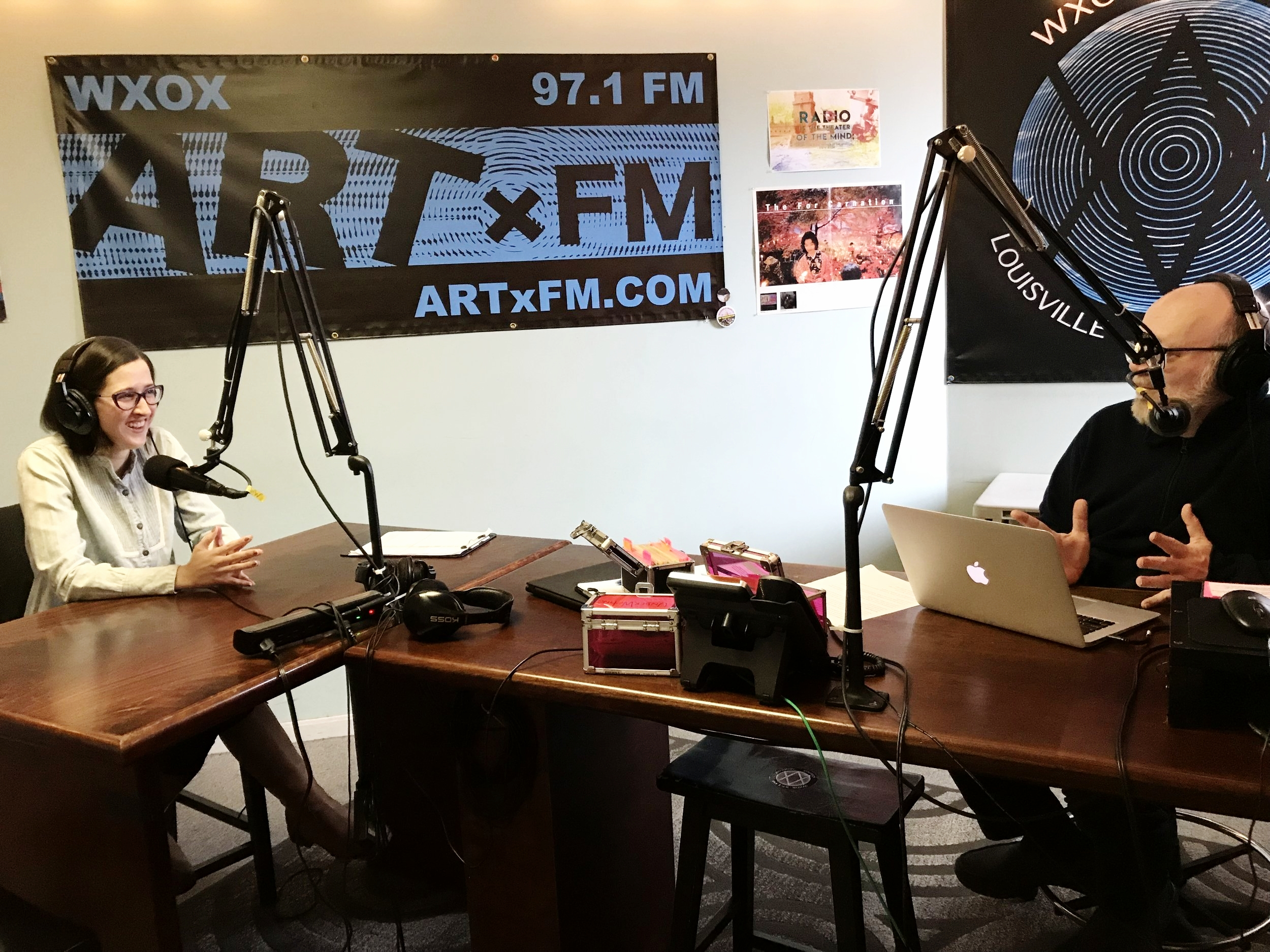 Kayla Bischoff joined LVA's Keith Waits in the WXOX studios to talk about her duo exhibition with Bob Lockart at PYRO Gallery. Tune in Thursdays from 10-11 a.m. on Art FM, 97.1, artxfm.com.