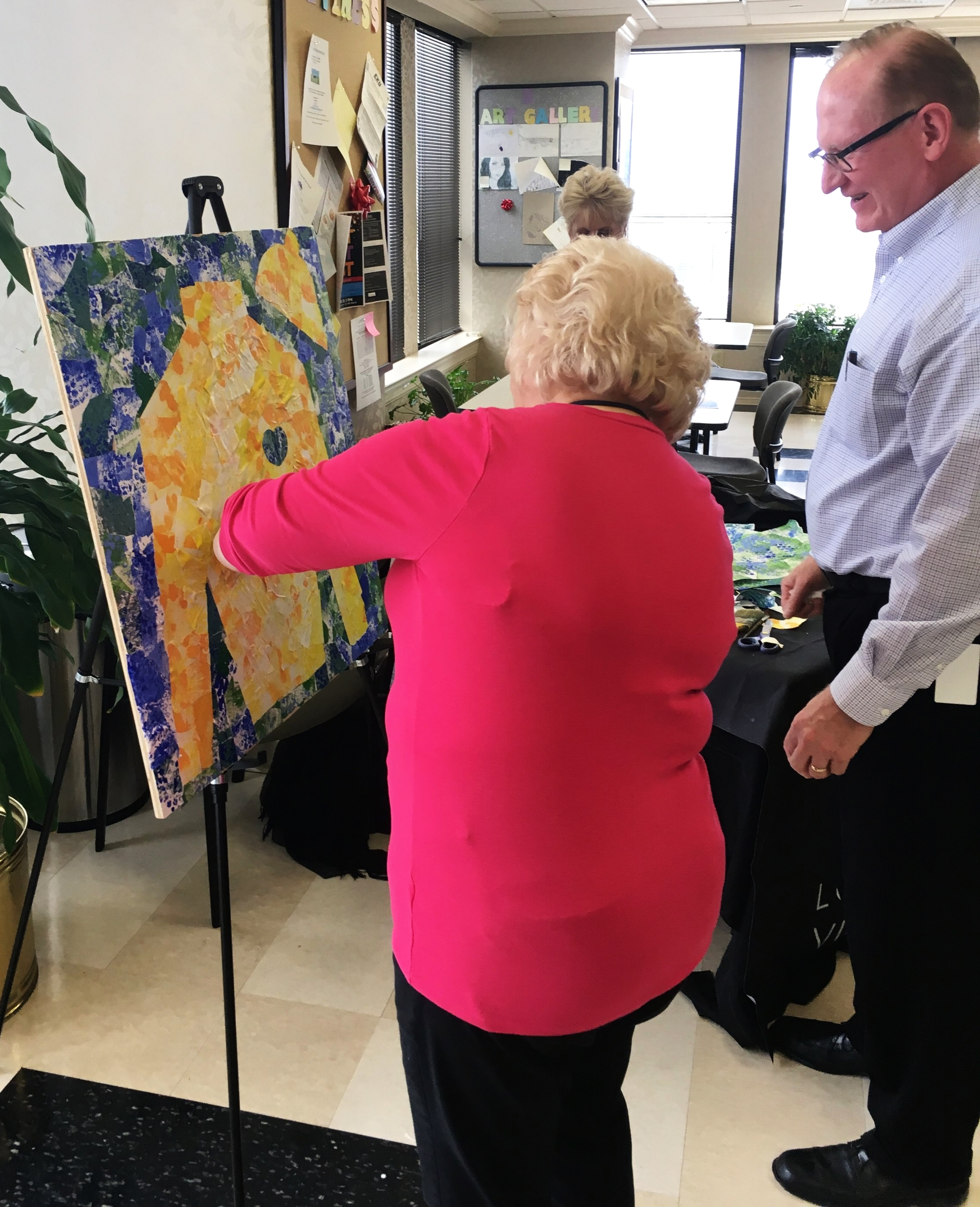 We had a great time making art with our friends at law firm  Stoll Keenon Ogden  as they look ahead to the launch of their employee-giving campaign for Fund for the Arts!