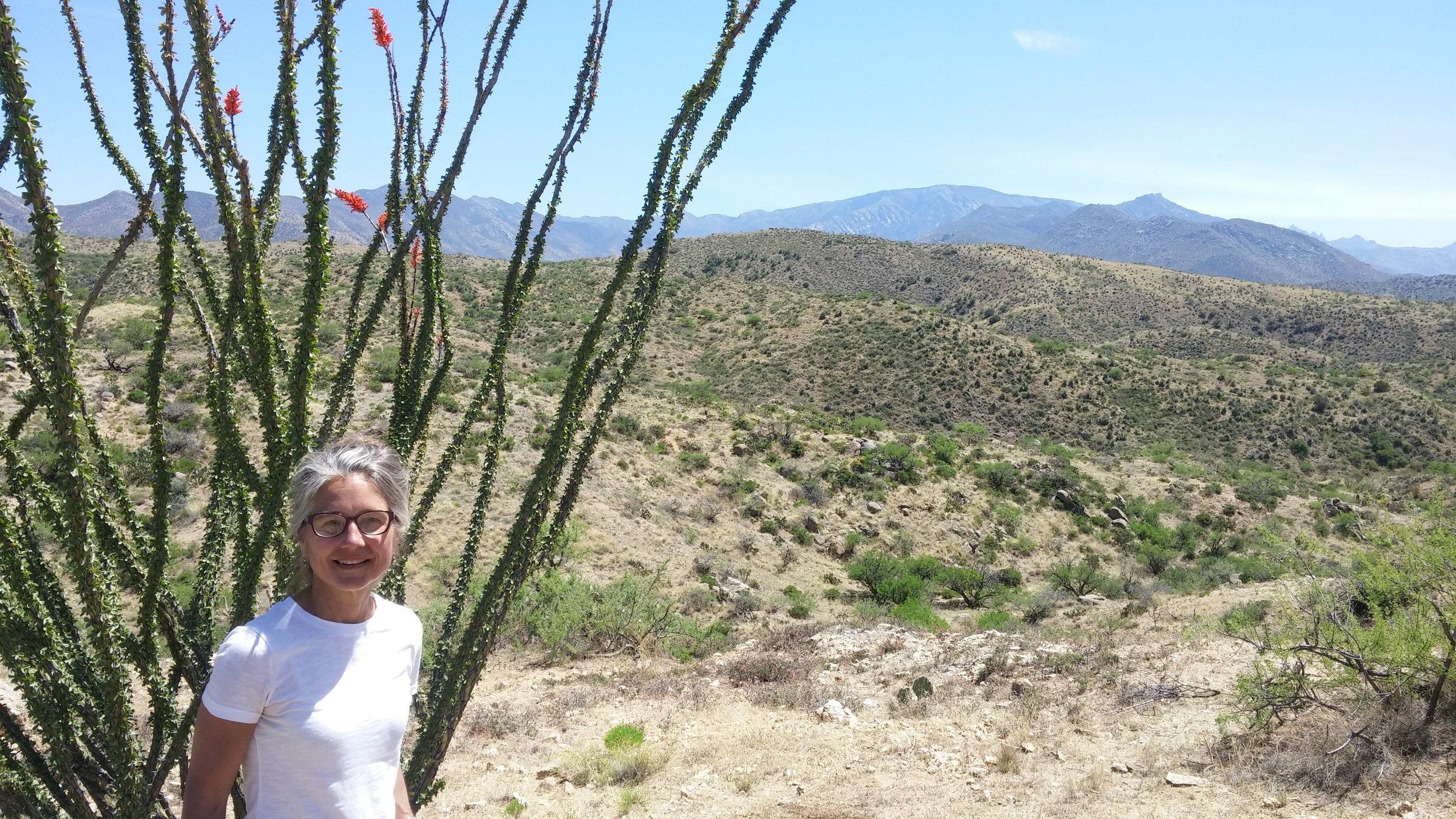 Clare Hirn at Rancho Linda Vista.