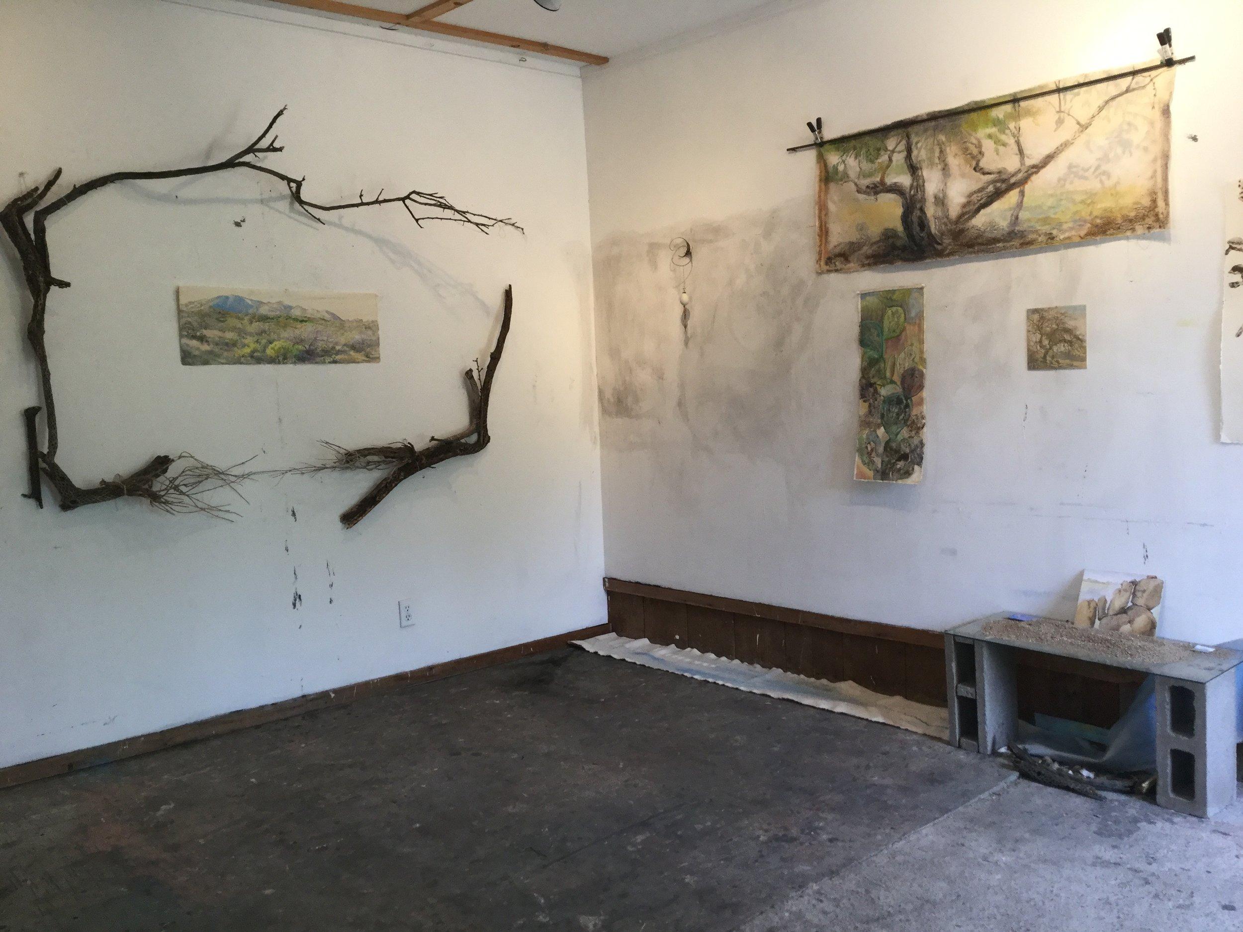 Hirn's studio at Rancho Lindo Vista