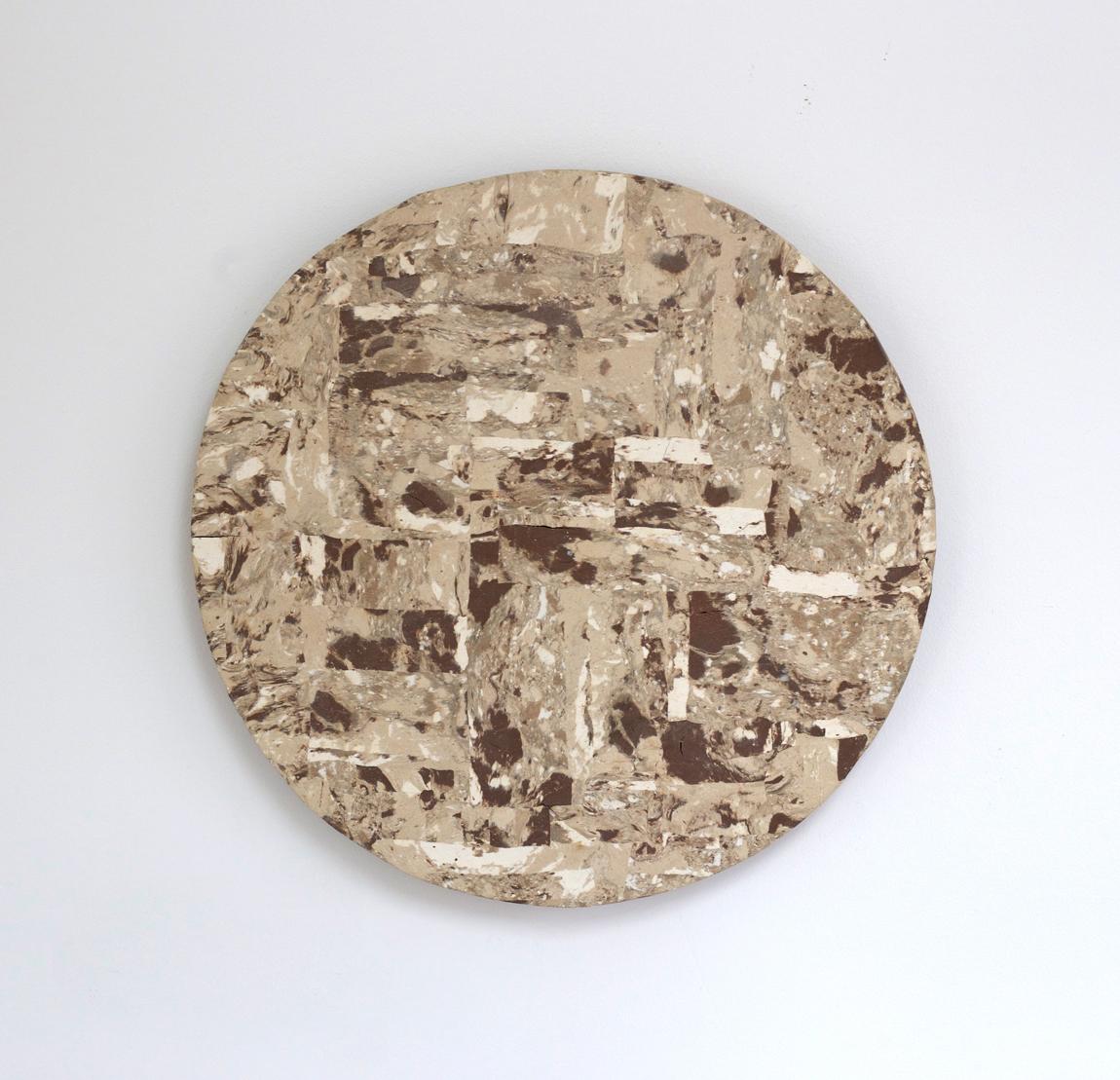 """""""Grenadier 5"""" by Lindsey Dezman, Ceramic,16x16in,2017"""