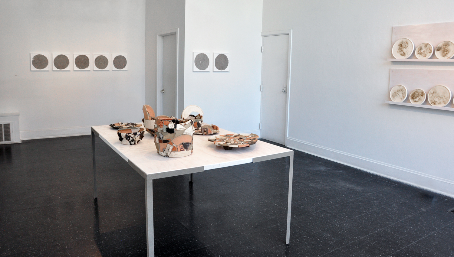 An exhibition at ROYGBIV Gallery in Columbus, OH, July 2017 Installation View