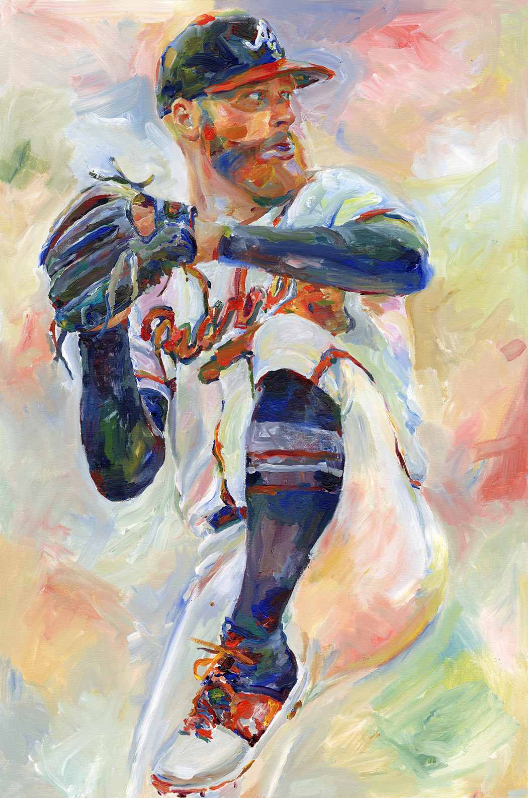 """Folty 25"" by Richard Sullivan, Acrylic on canvas, 24x36in, 2019, POR"