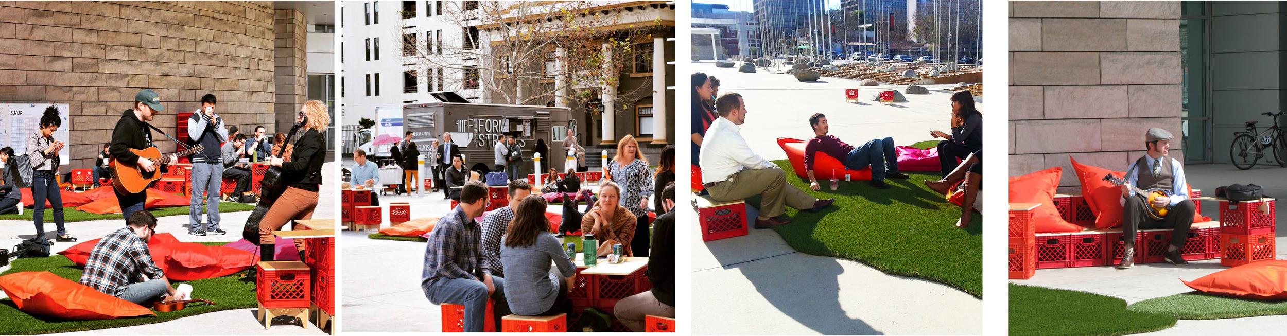 A Day of Prototyping City Hall Plaza   San Francisco