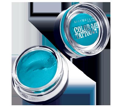 Maybelline Eye Studio Color Tattoo 24 Hour Cream Gel Shadow in Tenacious Teal
