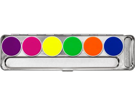 Kryolan Aquacolor Day Glow Palette