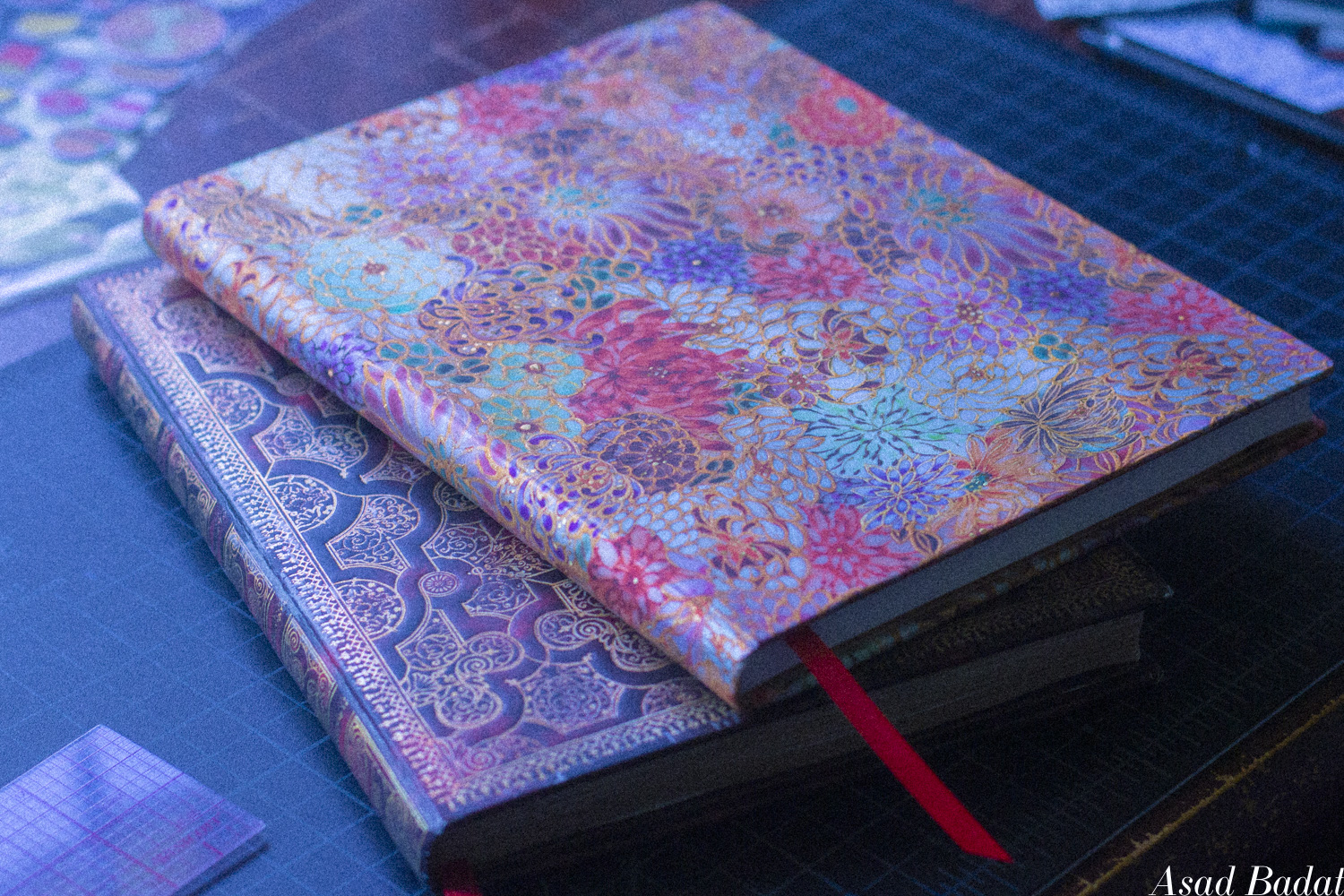Past and present journals.