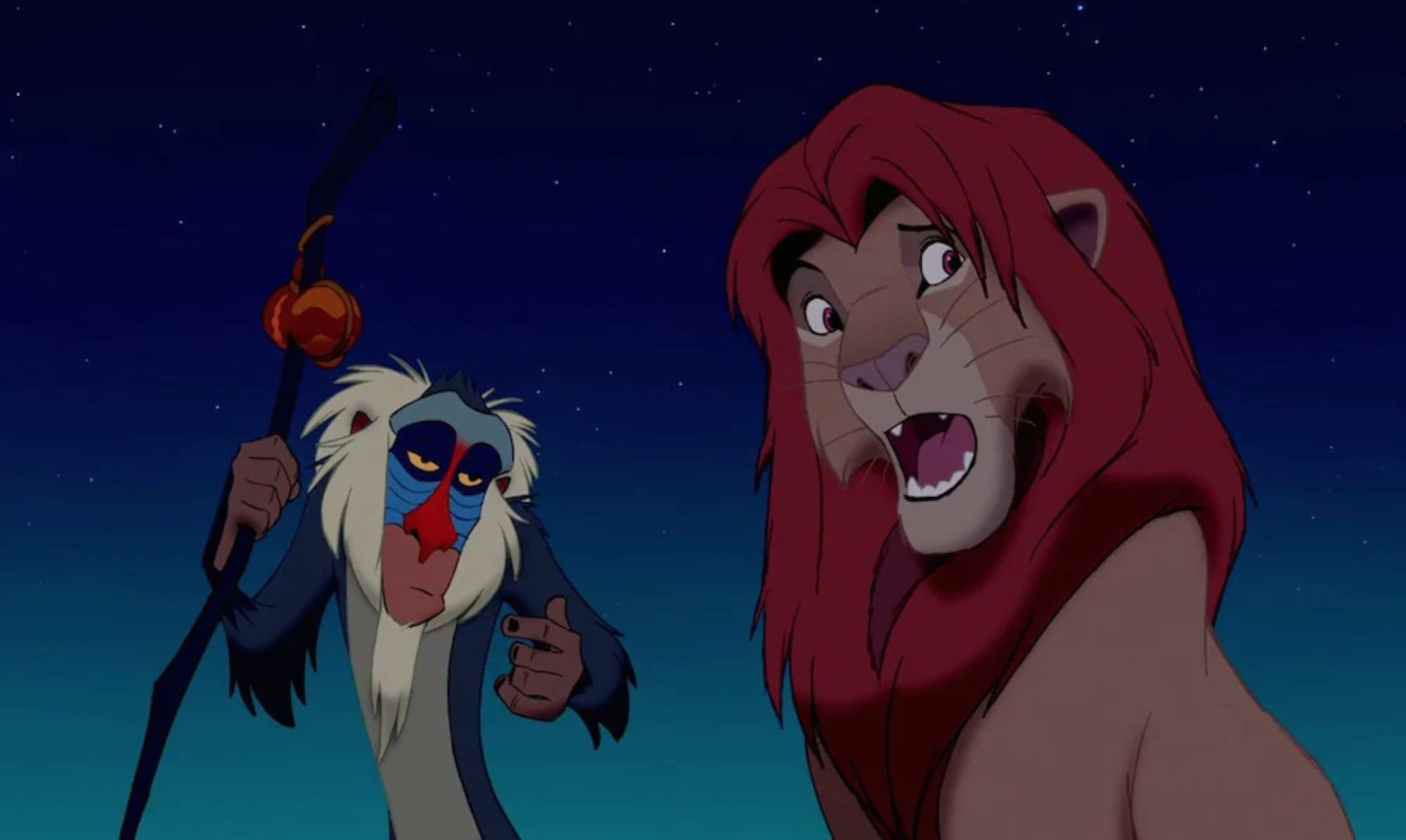 Change is good. —Rafiki, The Lion King | Image by  Disney