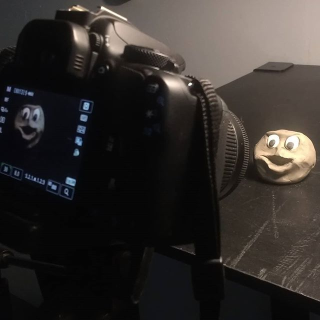 Some days work looks like this. #clay #stopmotion #claymation