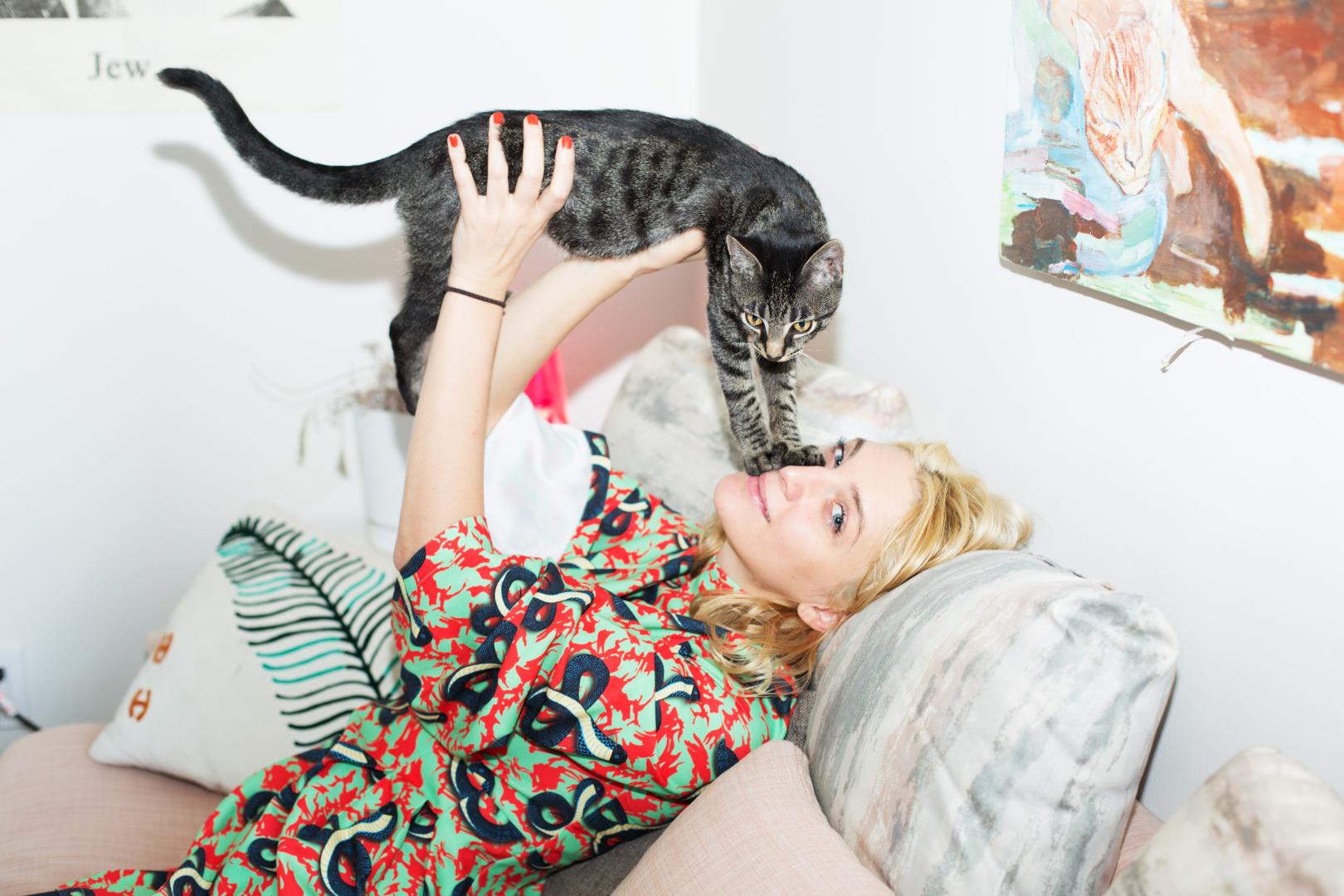 A crazy cat lady at heart -