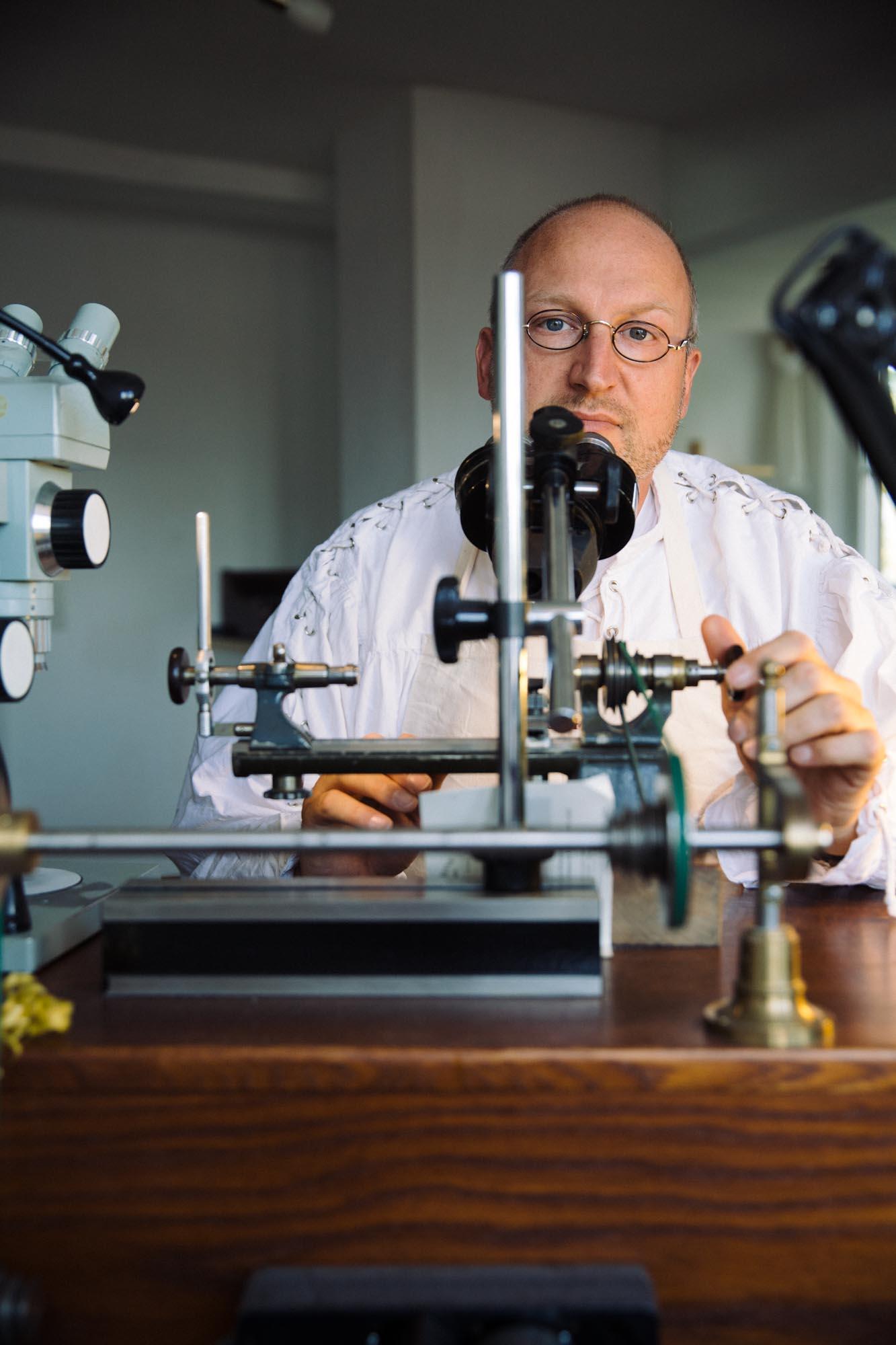 Marco Lang - Master Watchmaker & CEO, Lang & Heyne