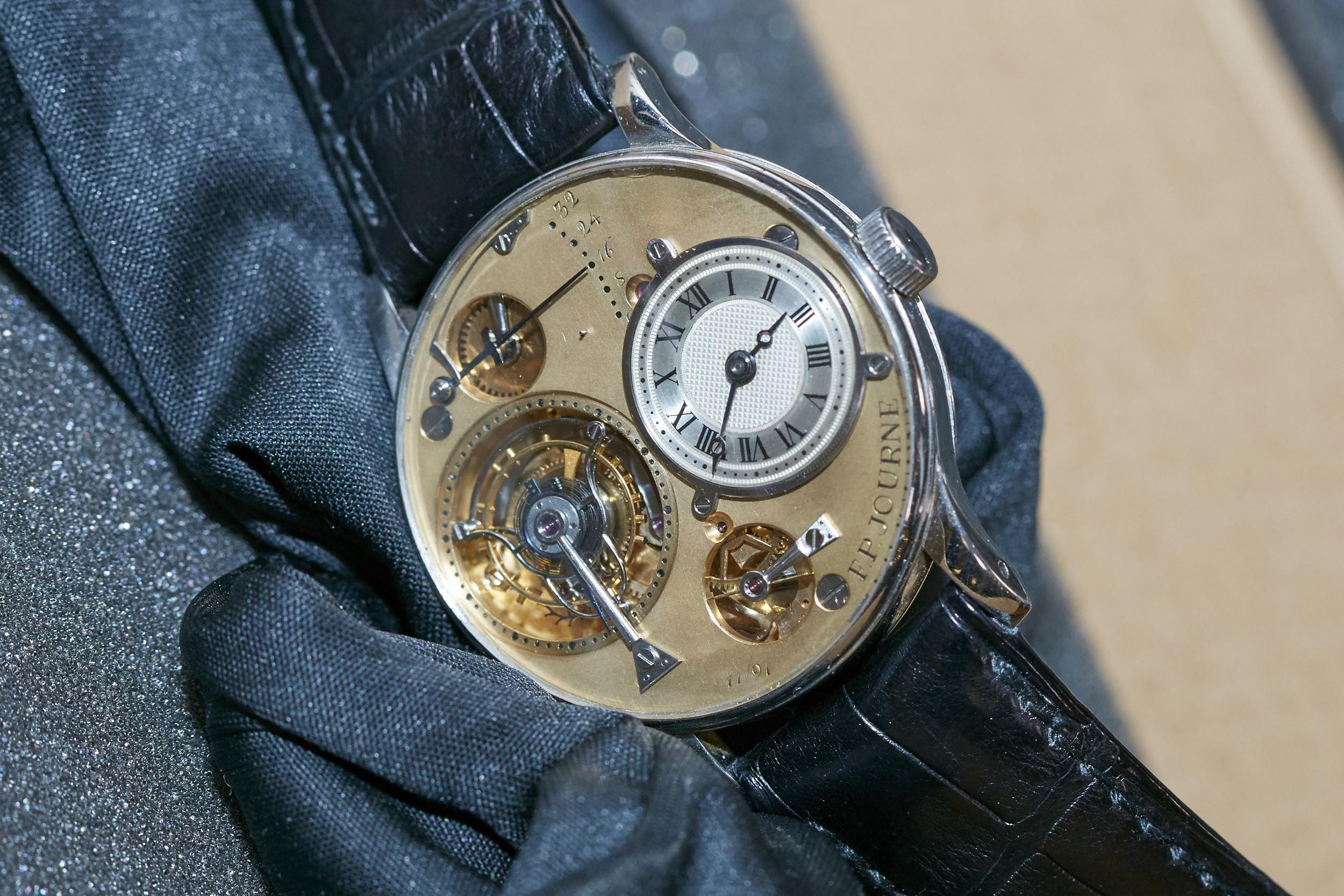 François-Paul Journe's First Wristwatch