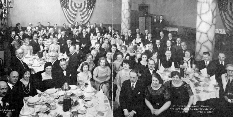 HSNY Annual Gala, 1933