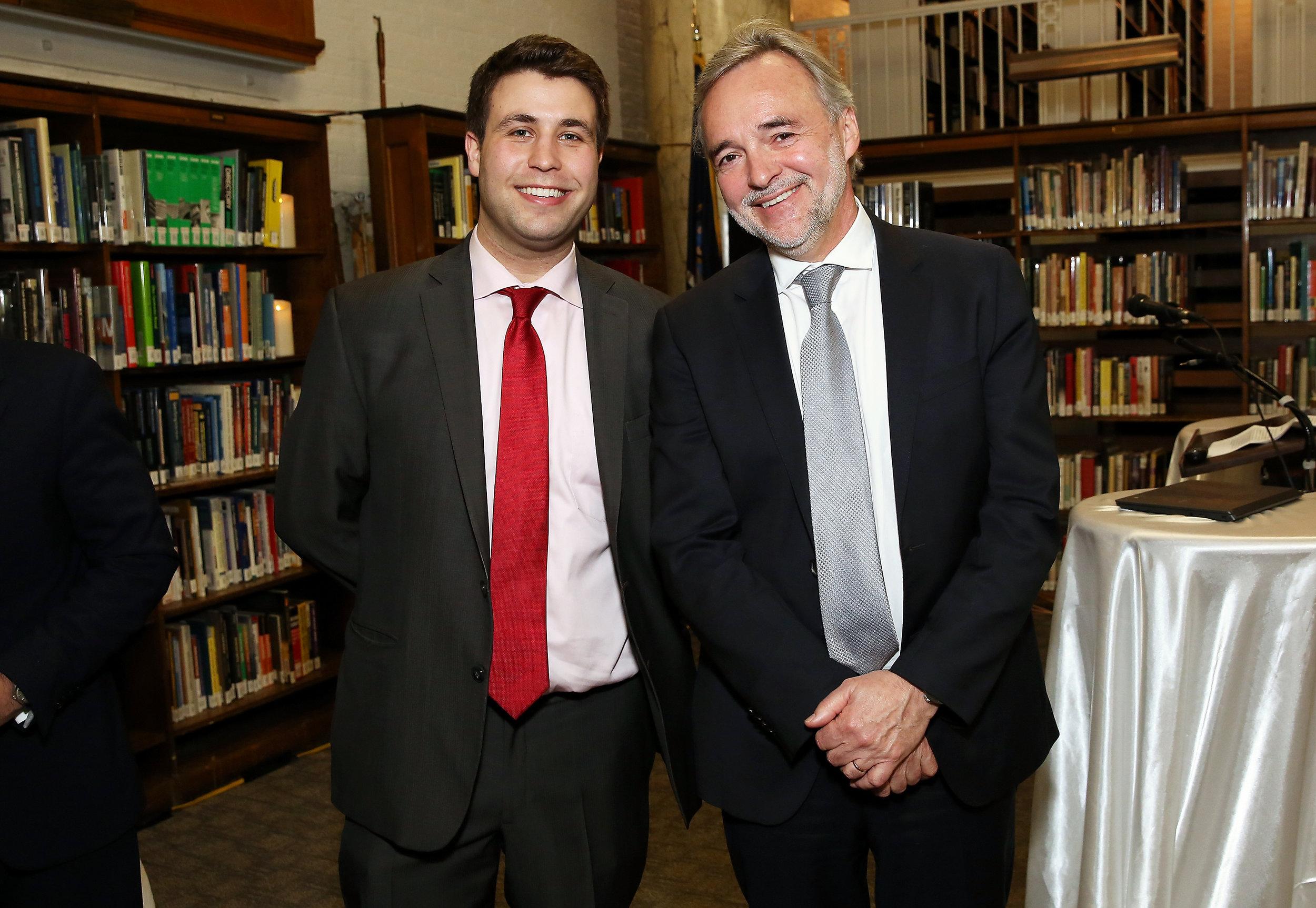 Michael Fossner and Nicholas Dawes