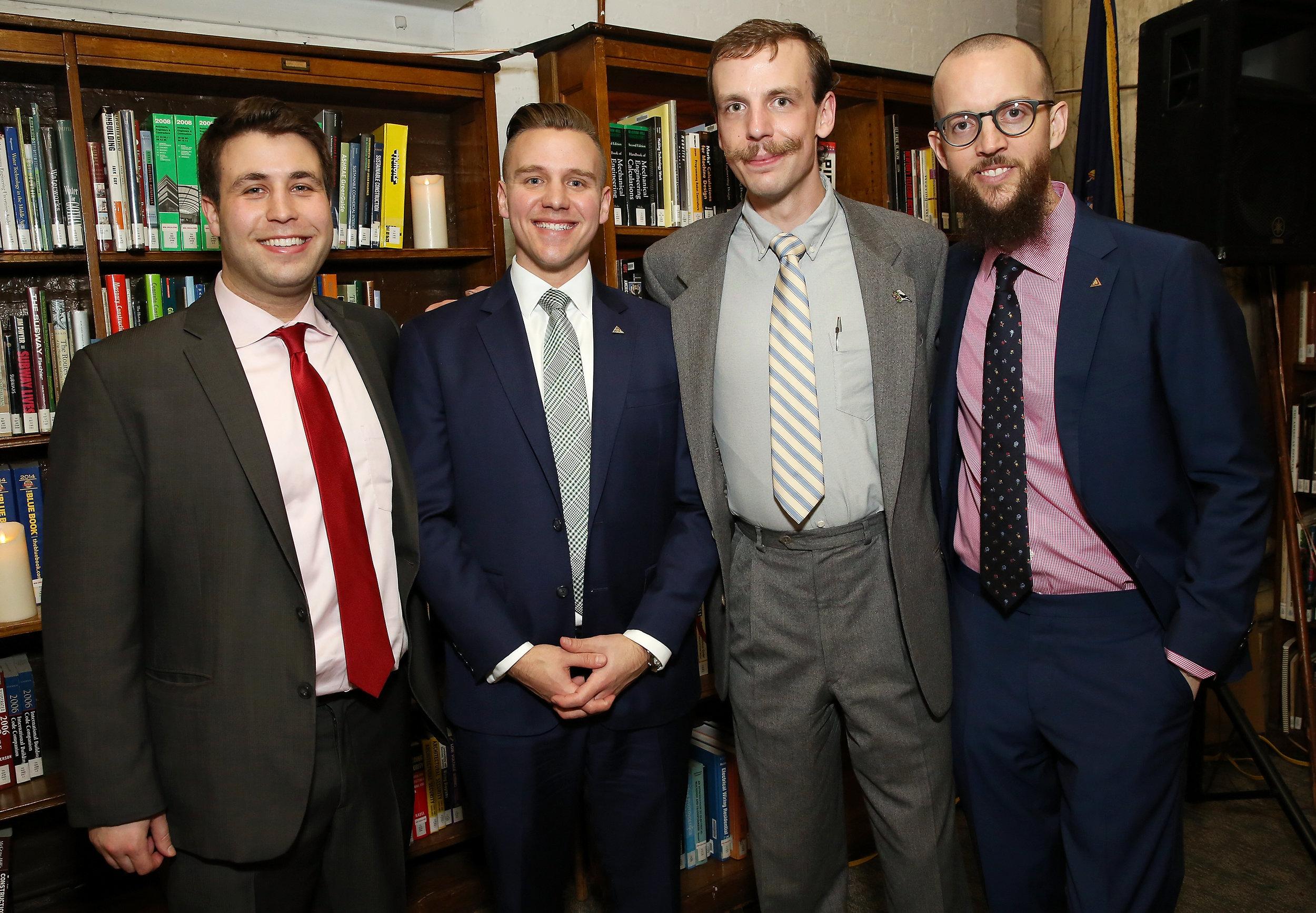 Michael Fossner, Steve Eagle, Justin Shellenberger and Nicholas Manousos