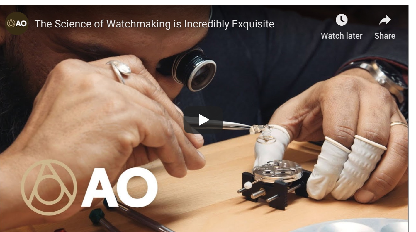 THE SCIENCE OF WATCH REPAIRING IS INCREDIBLY EXQUISITE    #AtlasObscuraTries