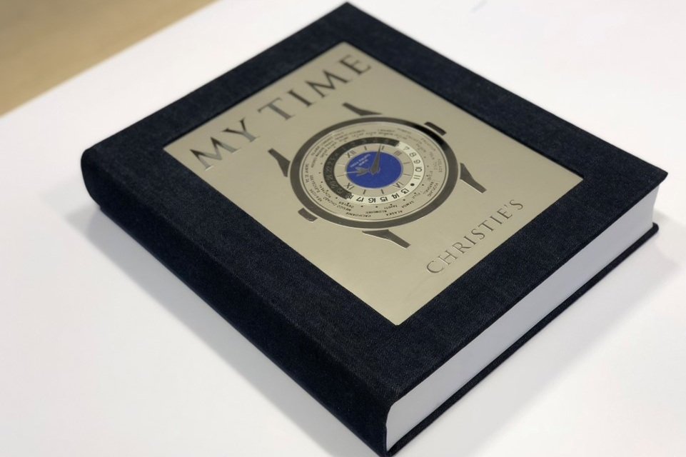 Lot 11 - My Time, Platinum Edition. Published by Christie's  This 688-page large format reference book has been produced with the great care that is an appropriate tribute to its exceptional photographical content; it will reveal to the public a watch collection never seen before. This book reveals examples of celebrated vintage Audemars Piguet, Vacheron & Constantin, Cartier, Patek Philippe and Rolex wristwatches, many of the unique pieces unknown to the collection community. Donated by  Christie's .  Estimate: $2,000 - $3,000