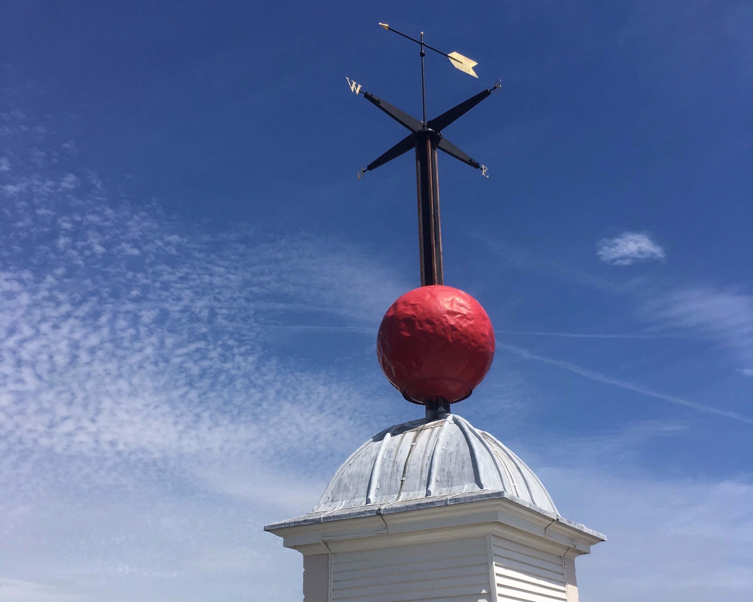 The time ball at the    Royal Observatory Greenwich