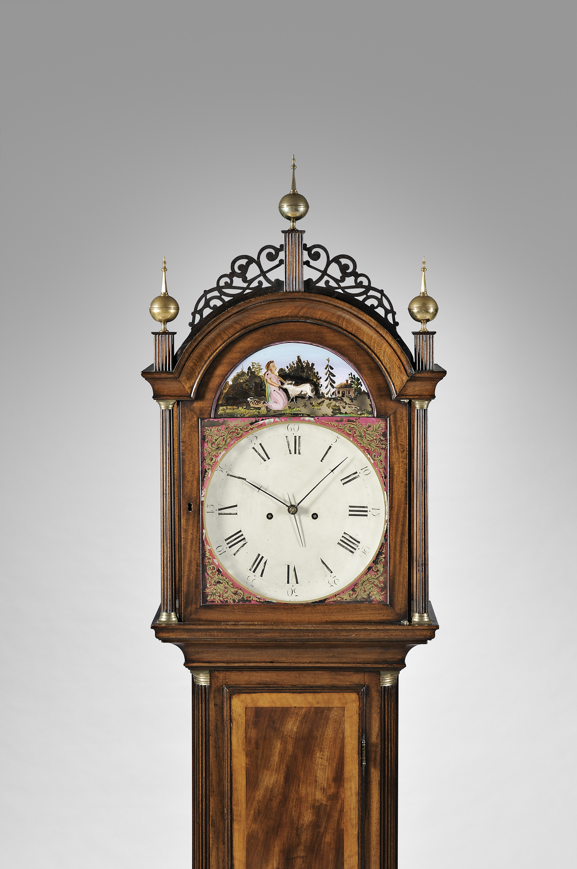 Willard alarm tall case clock