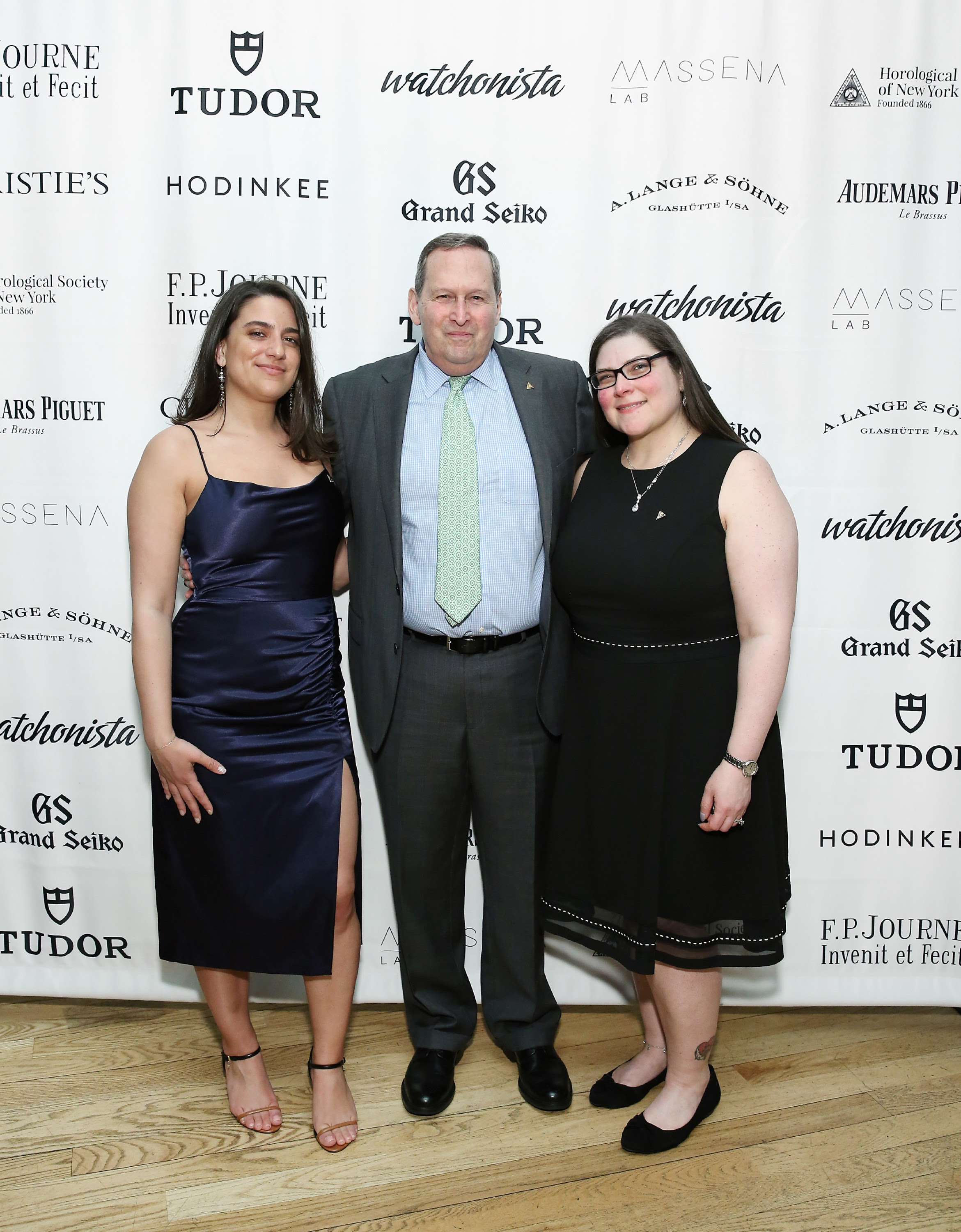 HSNY's growing staff celebrates at the 2019 Gala & Charity Auction. (L-R) Carolina Navarro, Director of Public Relations & Marketing; Ed Hydeman, Executive Director; and Rhonda Critelli, Executive Assistant.