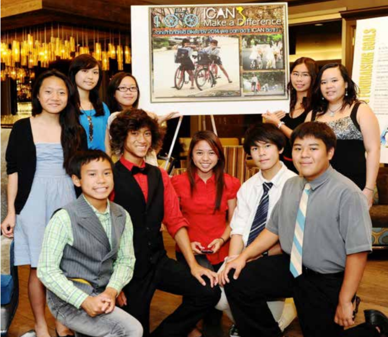 100 Bikes was started by a team of young Vietnamese-Americans who wanted to give back to youth in Vietnam and their communities.