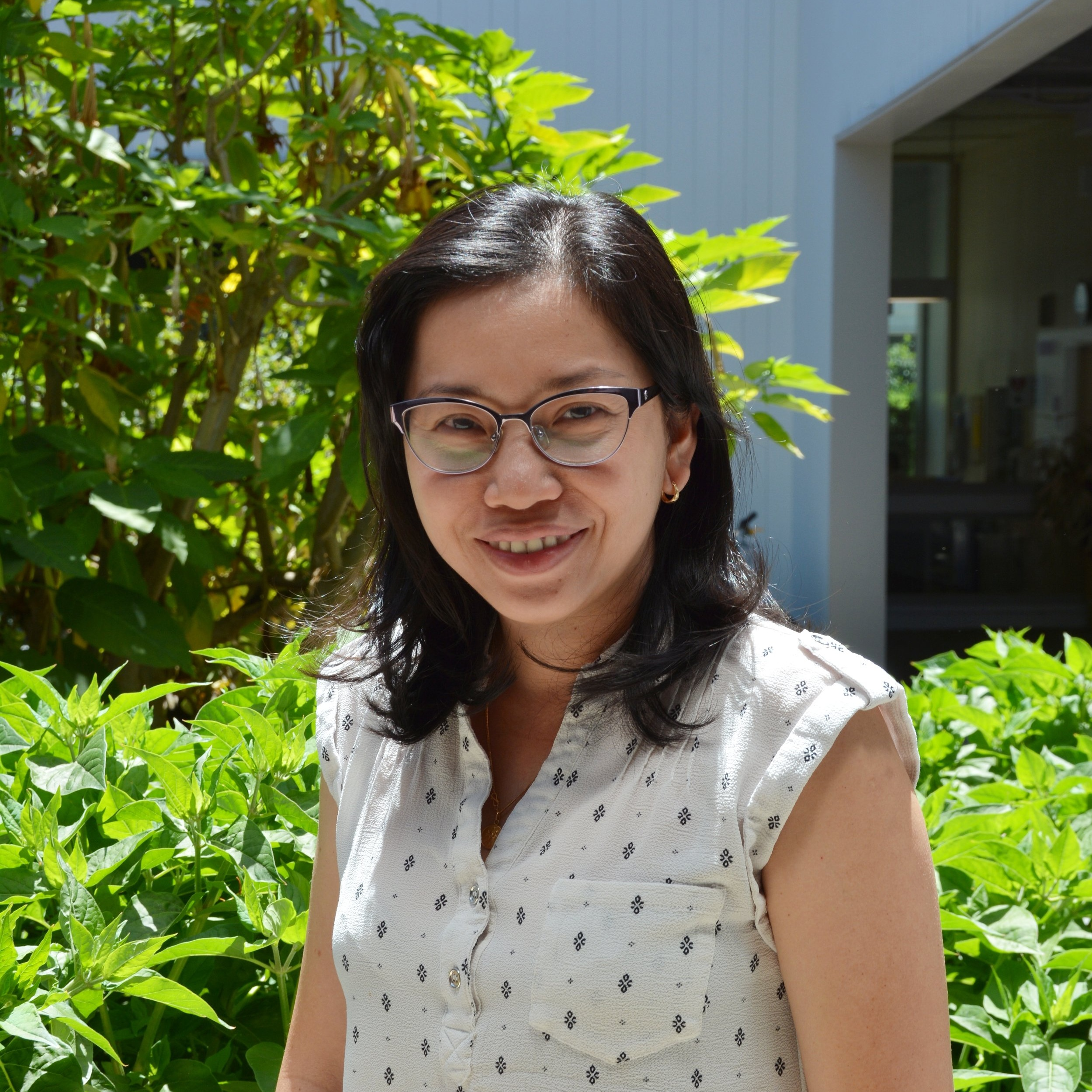 Lan Phuong Tran   Lan Phuong originally came to ICAN as a parent attending the workshops in 2016. She wanted her children to learn with friends their age before they began elementary school, and ICAN was the perfect place for that. She enjoys working with kids, and the staff was extremely helpful with everything from the start, leading her to join ICAN as a volunteer in 2017 and then a part-time Children's Program Coordinator in early 2019. Her favorite part of working at ICAN is seeing how excited the parents are when attending the workshops with their kids. In her free time, she likes going to the library, the park, going to Legoland for vacation, and shopping.