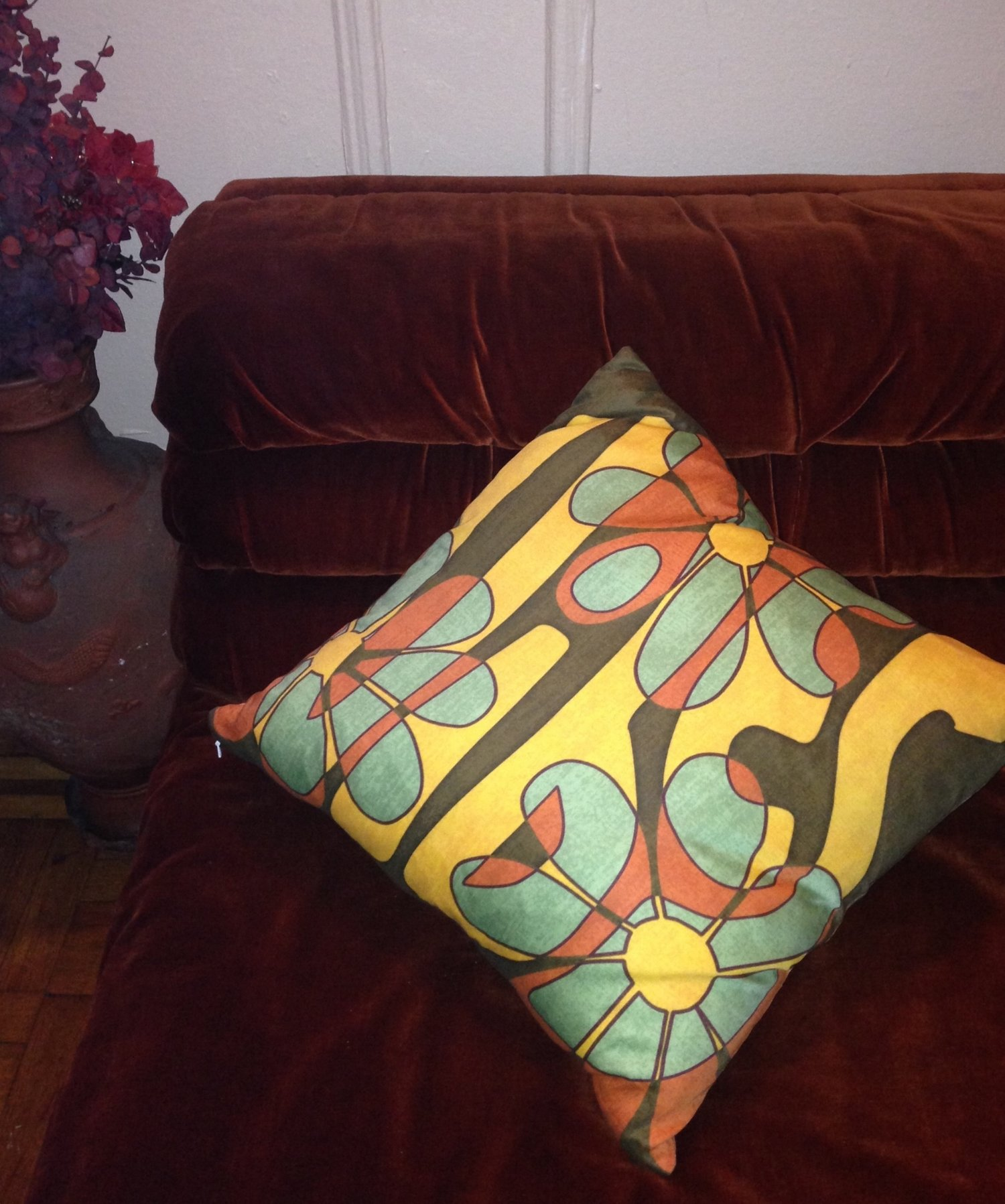Vibes In Your Household - We love when our customers send us pics of our pillows in their space :-)