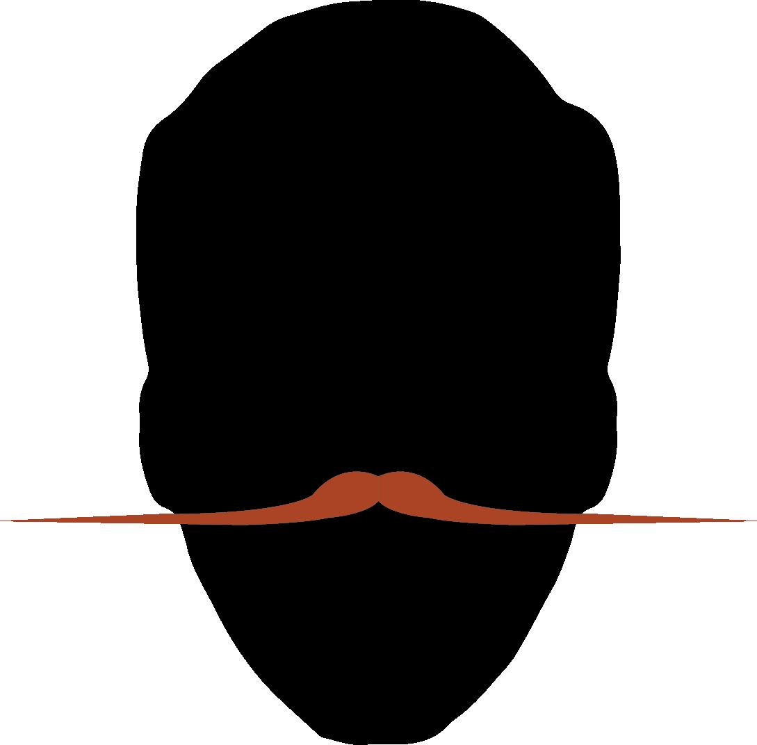 2. English Moustache