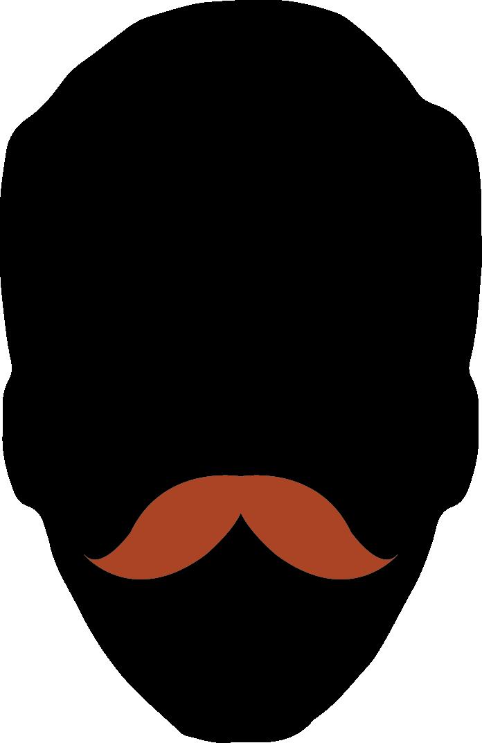 1. Natural Moustache
