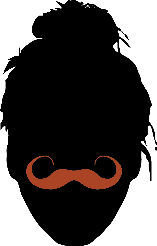 23. Realistic Moustache