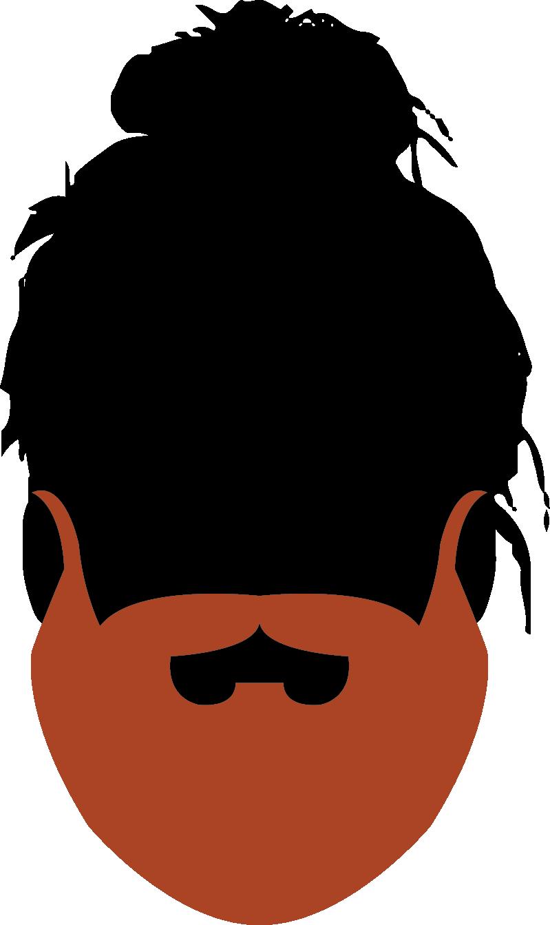25. Realistic Beard