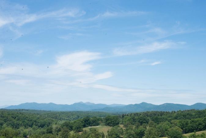 asheville north carolina mountains blue ridge