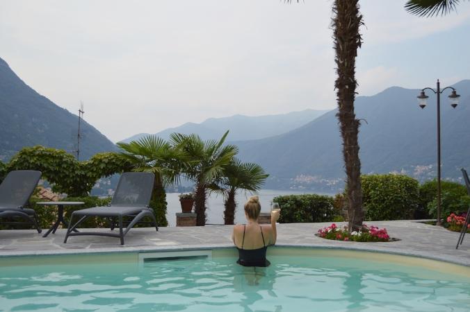 villa matilda pool lake como torno italy
