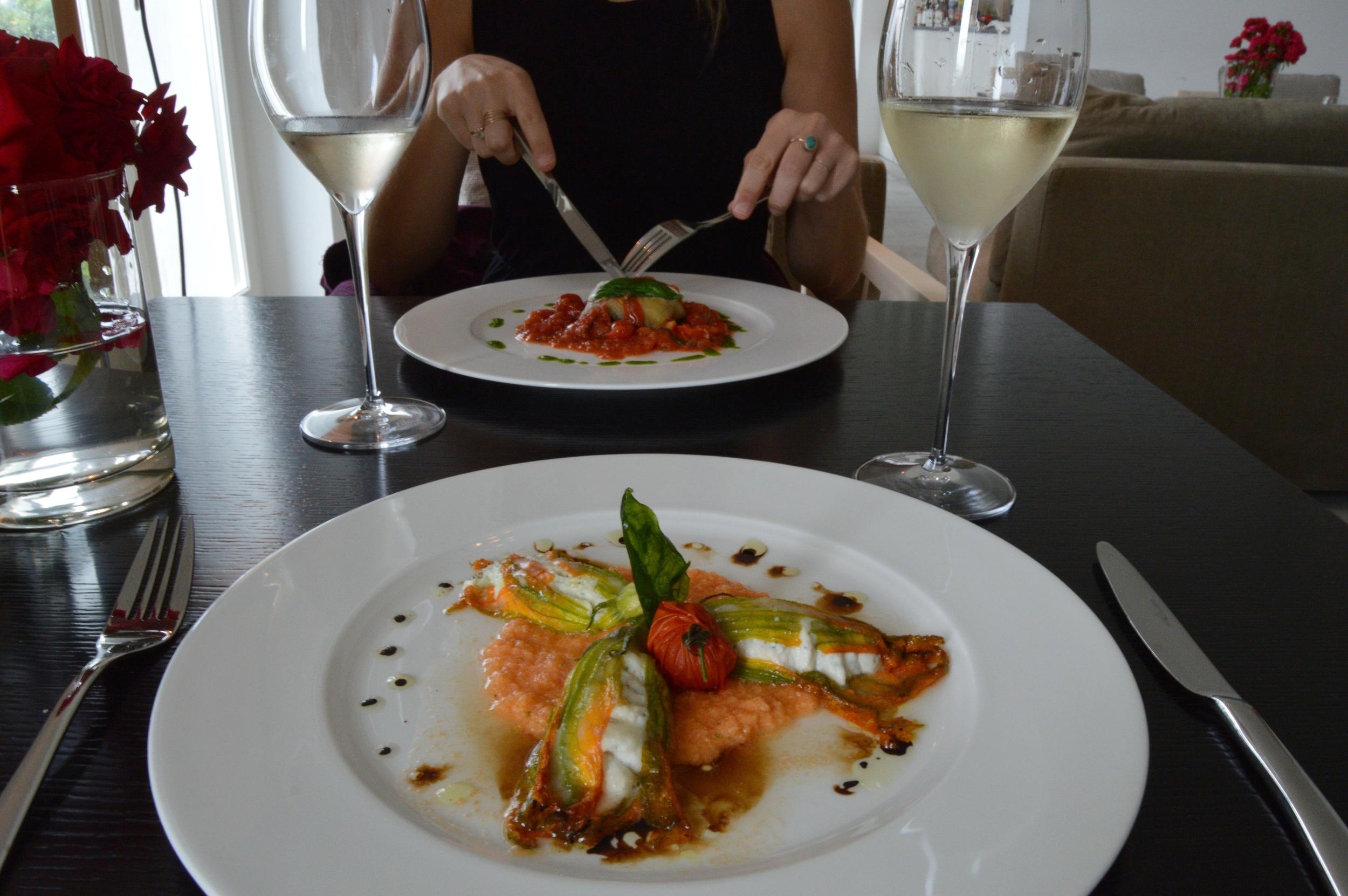 villa lario lake como restaurant