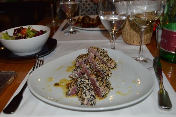marco polo restaurant dubrovnik croatia tuna