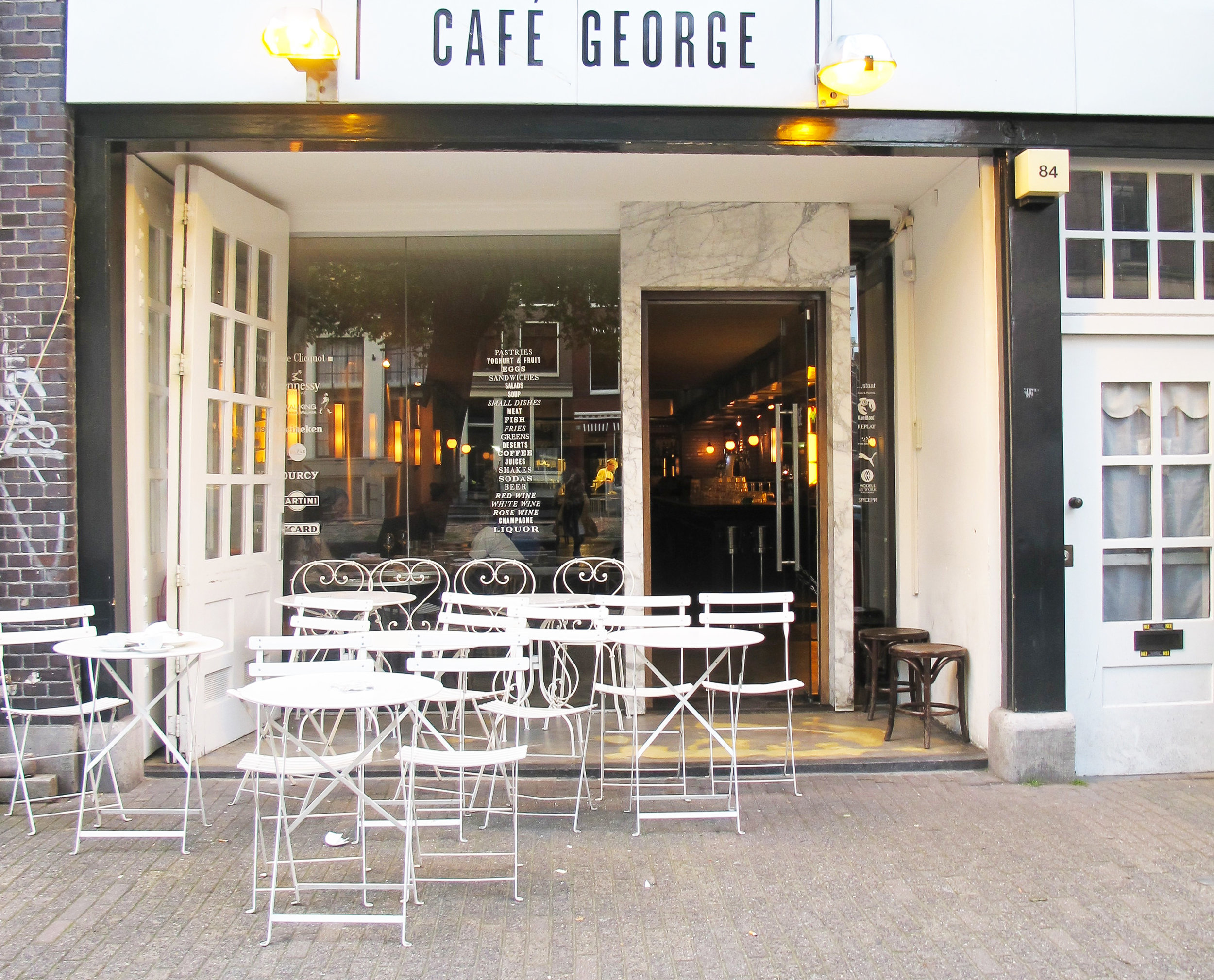 cafe george amsterdam