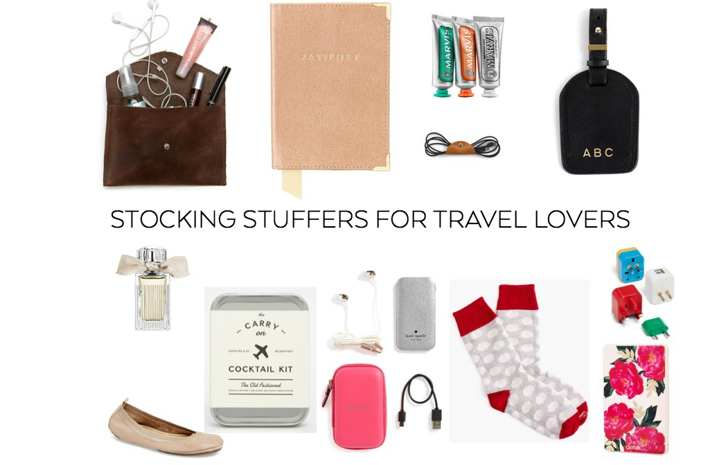 STOCKING STUFFERS FOR TRAVEL LOVERS