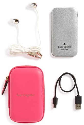 kate spade portable phone charger