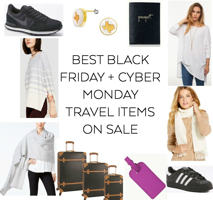 best travel items on sale for black friday and cyber monday 2016