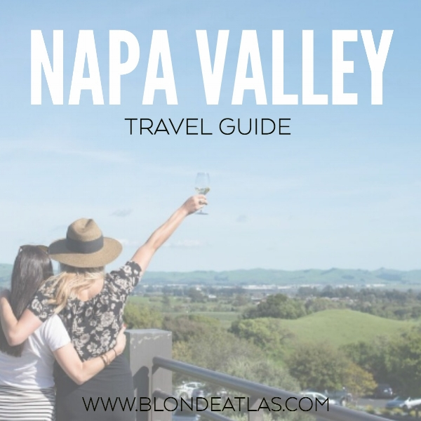 NAPA VALLEY TRAVEL GUIDE
