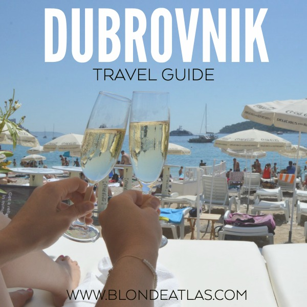 DUBROVNIK TRAVEL GUIDE CROATIA